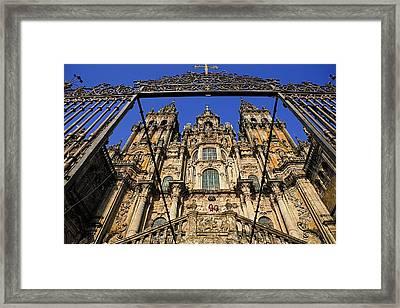 Spain. Santiago De Compostela Framed Print by Everett