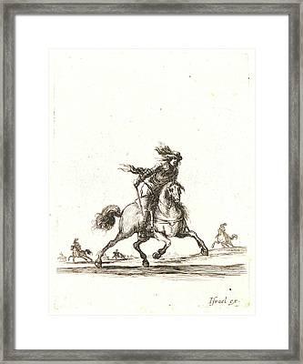 Stefano Della Bella Italian Framed Print