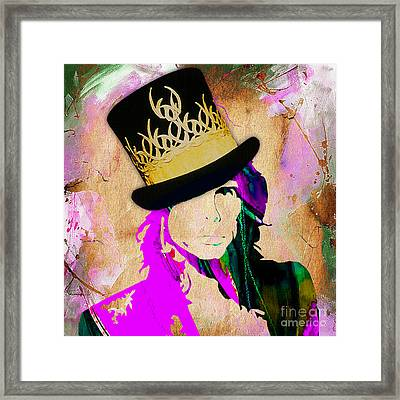 Steven Tyler Collection Framed Print