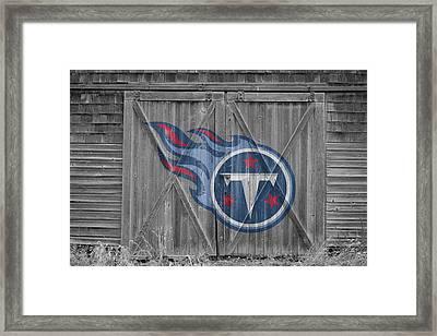 Tennessee Titans Framed Print