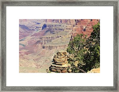 The Canyon Framed Print by Douglas Miller
