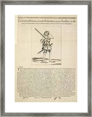 The History Of Don Quixote Framed Print by British Library