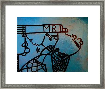 The Holy Family Framed Print by Gloria Ssali