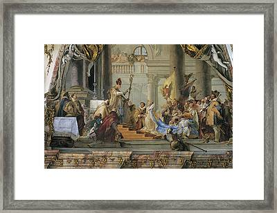 Tiepolo, Giovanni Battista 1696-1770 Framed Print by Everett