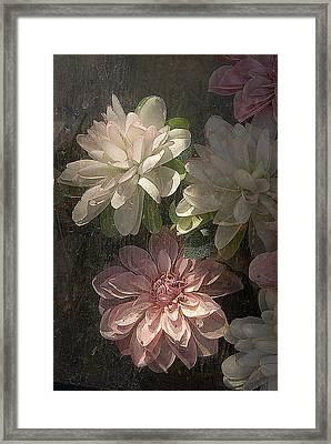 Tijuana Mexico Artificial Flower Arrangement Framed Print by John Hanou