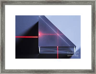 Total Internal Reflection Framed Print