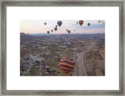Turkey, Cappadocia Framed Print