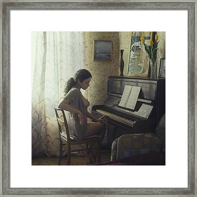 Untitled Framed Print by David Dubnitskiy