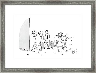 New Yorker August 7th, 2006 Framed Print