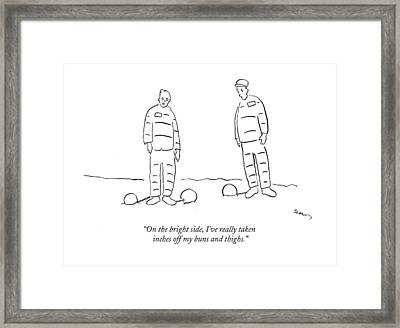 On The Bright Side Framed Print by Michael Shaw