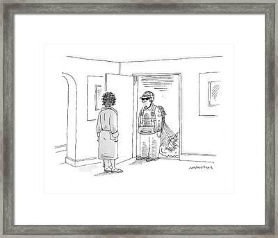 New Yorker June 9th, 2008 Framed Print by Mick Stevens