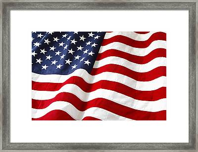 USA Framed Print by Les Cunliffe