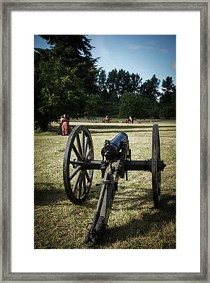 Usa, Oregon, Brooks, Willamette Mission Framed Print