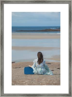 Waiting Framed Print by Joana Kruse