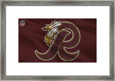 Washington Redskins Uniform Framed Print