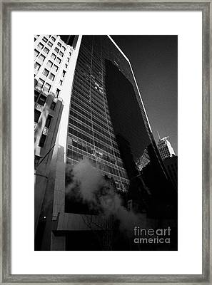 9 West 57th Street Midtown New York City Framed Print by Joe Fox