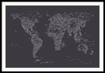 Major Digital Art Framed Prints