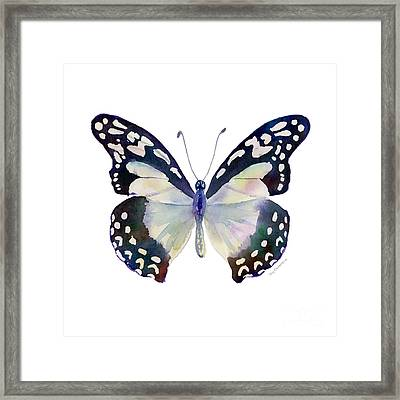 90 Angola White Lady Butterfly Framed Print