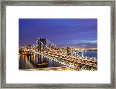 90 Miles An Hour  Framed Print