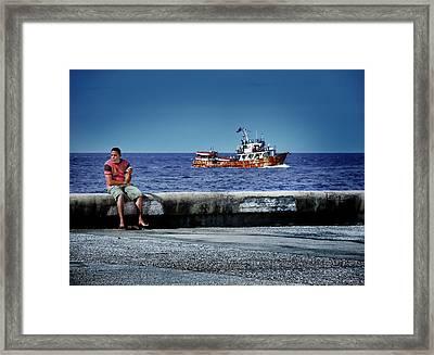 90 Miles Framed Print