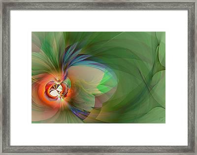908 Framed Print