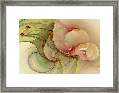 910 Framed Print