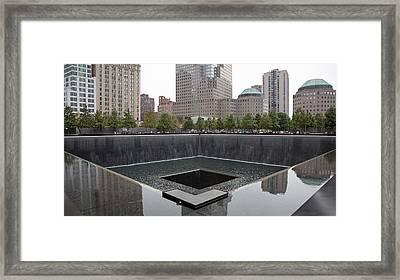 911 Memorial Pool Nyc Framed Print