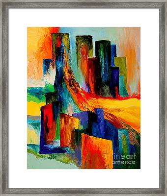 911 Revisited Framed Print by Larry Martin