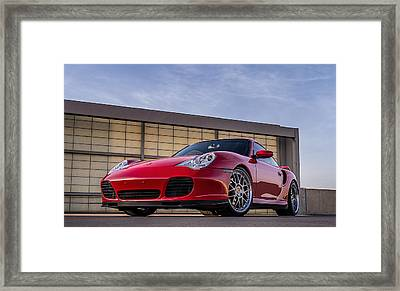 911 Twin Turbo Framed Print