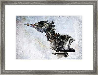 In Death Is Unity Framed Print by Victor Slepushkin