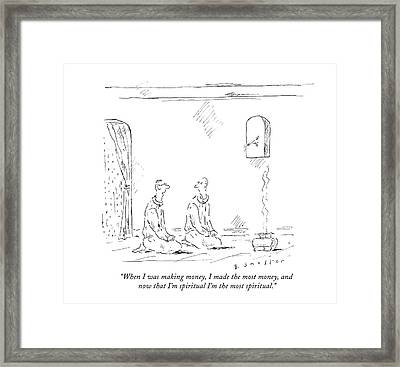 Untitled Framed Print by Barbara Smaller