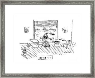 New Yorker February 4th, 2008 Framed Print
