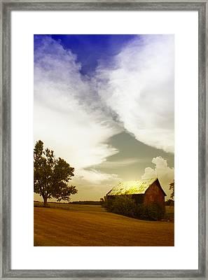 Artsy Fartsy Barn Framed Print