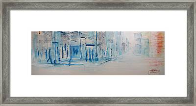 95 In The Shade Framed Print