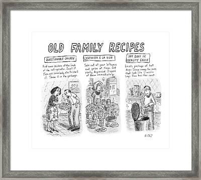 New Yorker June 25th, 2007 Framed Print