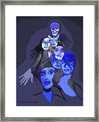 957 - Boom Doom Hallucination   Framed Print