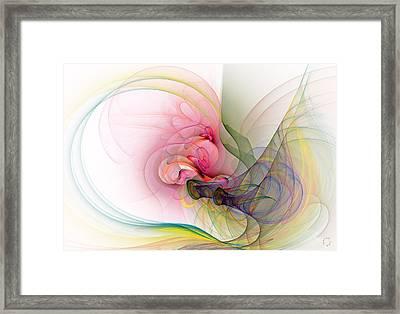 968 Framed Print