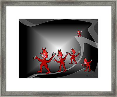 970 -  Wutbuergers   Framed Print