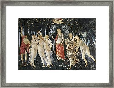 Italy, Tuscany, Florence, Uffizi Framed Print