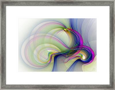 983 Framed Print by Lar Matre