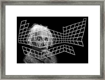 99 Einsteinium Framed Print