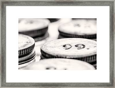 99 Framed Print by Jon Woodhams