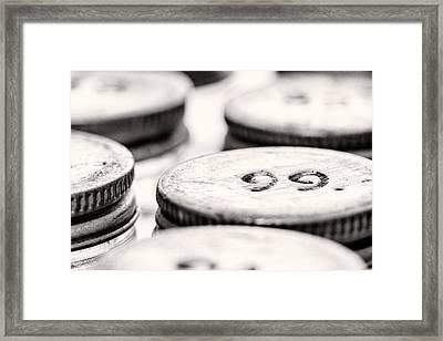 99 Framed Print