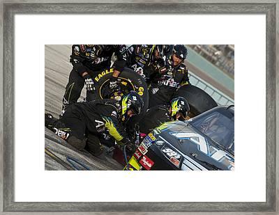 99 Pit Crew Framed Print