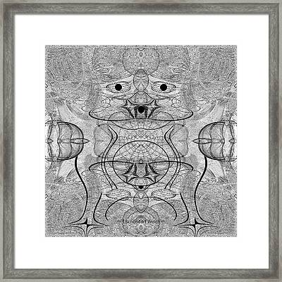 990 - The Hulk Framed Print by Irmgard Schoendorf Welch