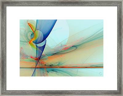 992 Framed Print