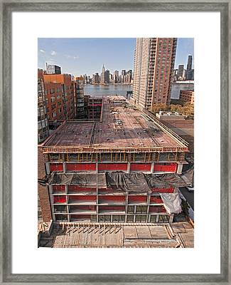 9th Floor Forms Framed Print