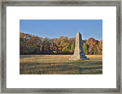 9th Indiana Framed Print by Mike Talplacido