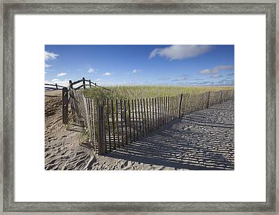 9th St. Beach Framed Print by Al Hurley