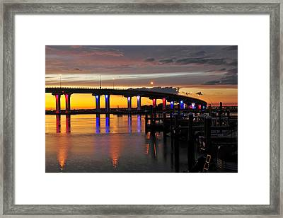 9th Street Bridge Framed Print